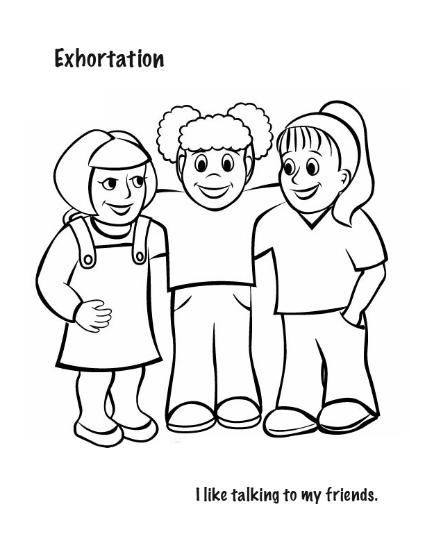 spiritual gifts coloring pages | Spiritual Gifts Coloring Page Coloring Pages