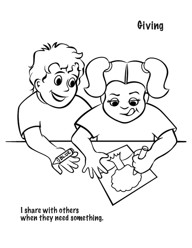 free spiritual gifts coloring pages