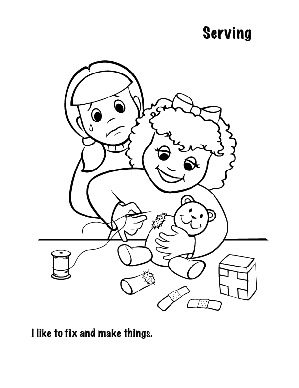 Free Spiritual Gifts Coloring PagesFree Spiritual Gifts Coloring Pages